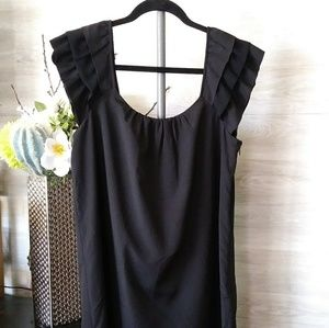 Ann Taylor Loft Mini Black Dress
